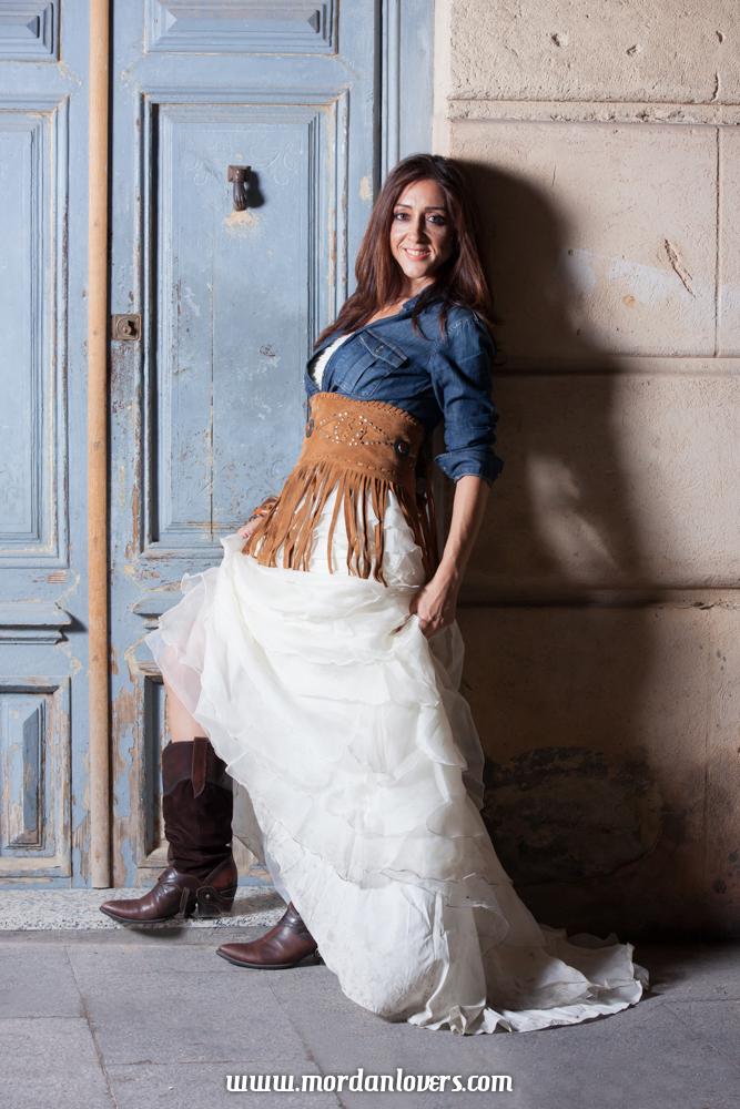 vestidos para novia estilo vaquero – vestidos elegantes 2019